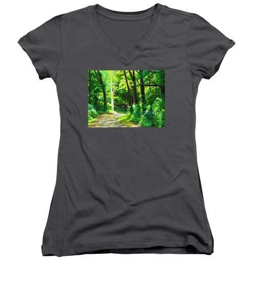 Heaven And Nature Sings Women's V-Neck