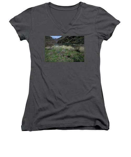 Hells Canyon National Recreation Area Women's V-Neck