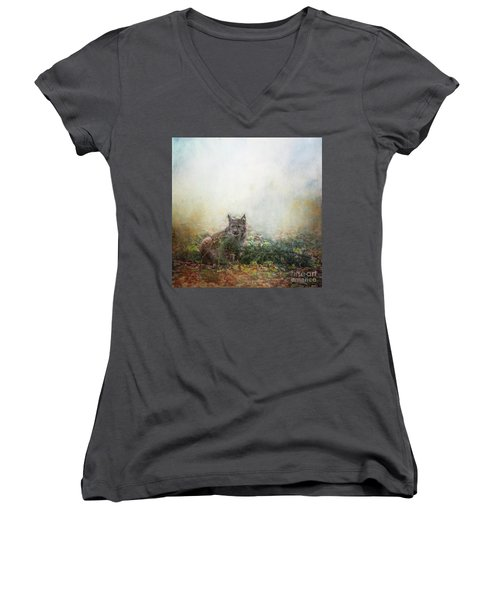 Hide And Seek Women's V-Neck
