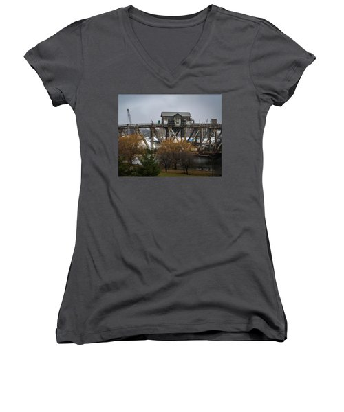 House Bridge Women's V-Neck