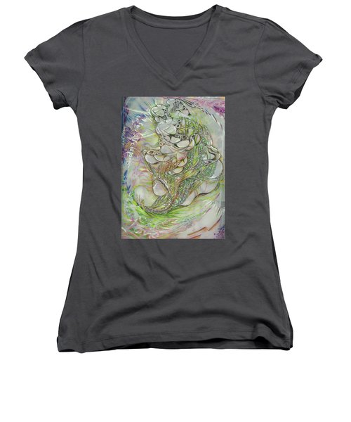 I Am Of The Sky Women's V-Neck