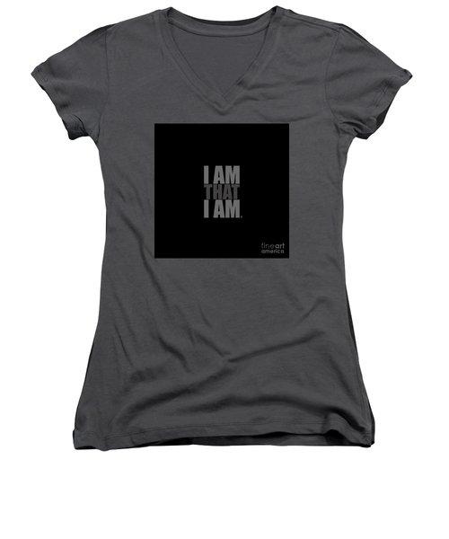 I Am That I Am Women's V-Neck