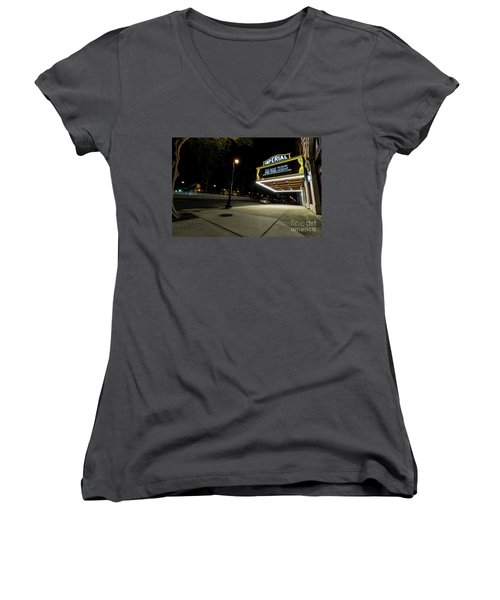 Imperial Theatre Augusta Ga Women's V-Neck