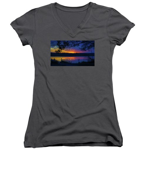 In The Blink Of An Eye Women's V-Neck