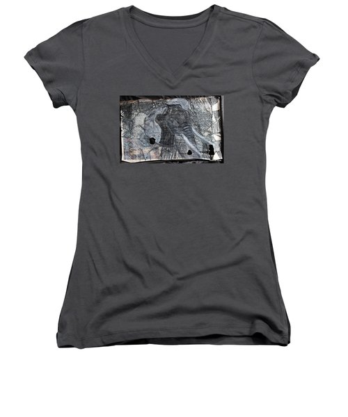 Isn't There Always An Elephant That No One Can See Women's V-Neck