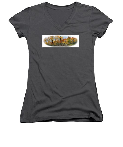 It's All About The Trees Women's V-Neck