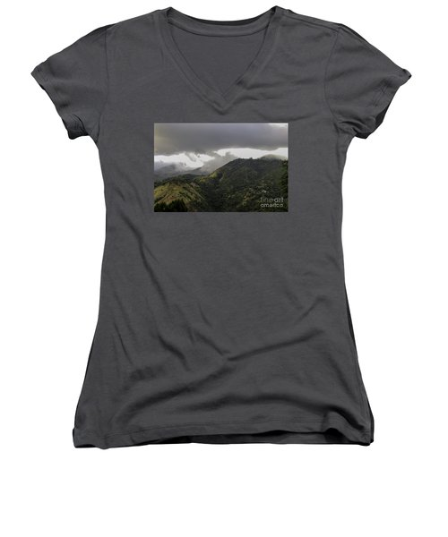 Jamaican Blue Mountains Women's V-Neck