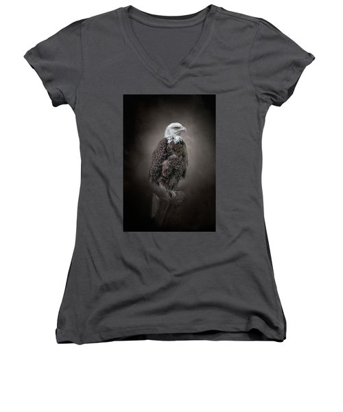 Keeping Watch Women's V-Neck