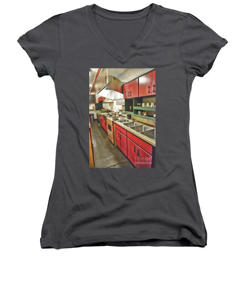 Kitchen Car Women's V-Neck