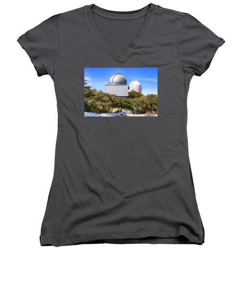 Kitt Peak Observatory Az Women's V-Neck