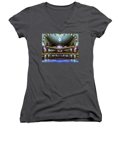 Landers Theatre Stage View Women's V-Neck