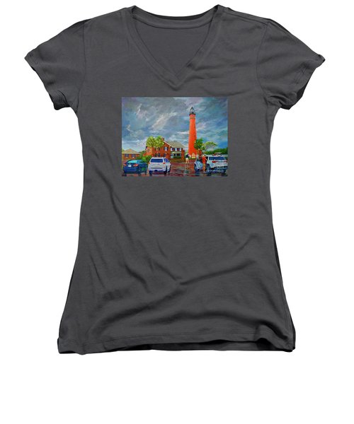 Lightning And The Light Women's V-Neck