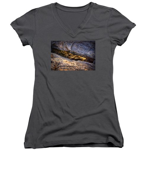 Lit Rock Women's V-Neck