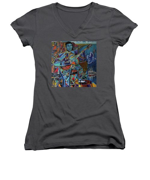 Looking Back Women's V-Neck