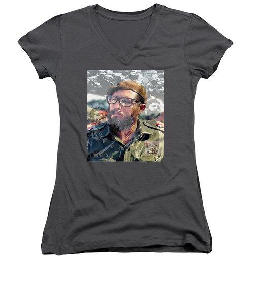 Loved Fidel Women's V-Neck
