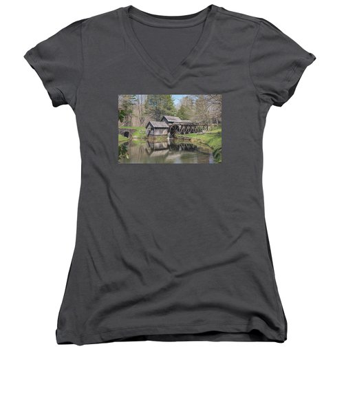 Mabry Mill  Women's V-Neck