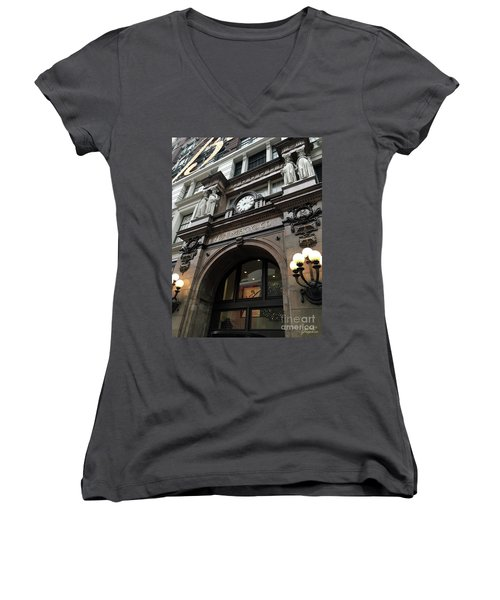 Macys Herald Square Nyc Women's V-Neck
