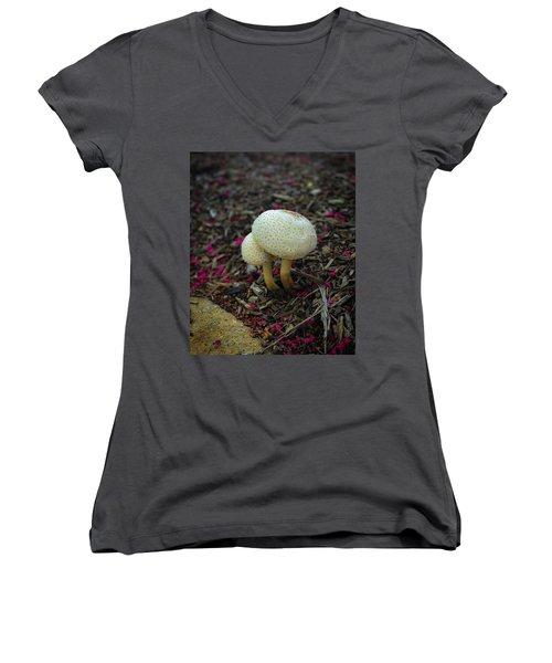 Magical Mushrooms Women's V-Neck