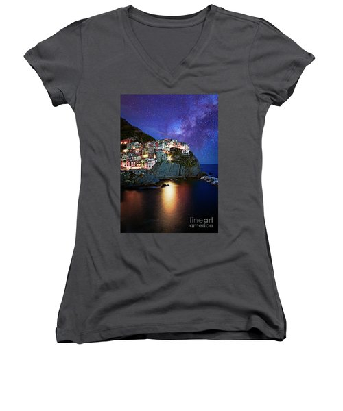 Manarola By Stars Women's V-Neck