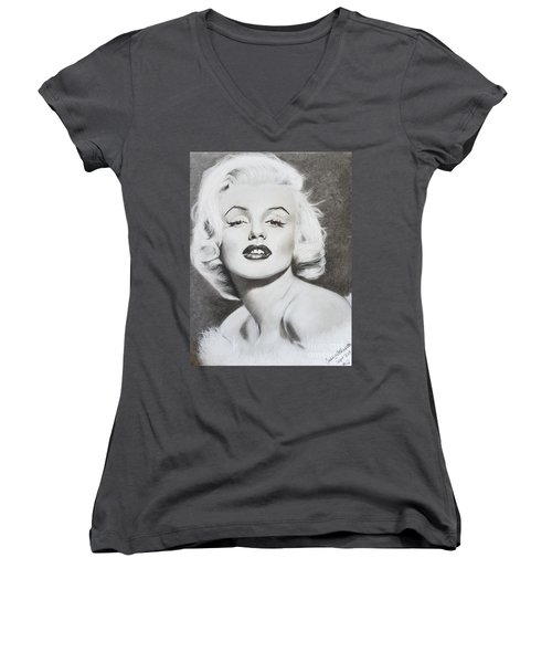 Marilyn Monroe  Women's V-Neck