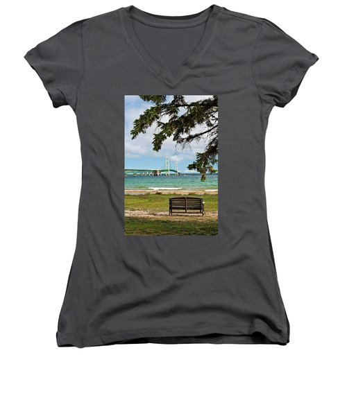 Mighty Mac Women's V-Neck