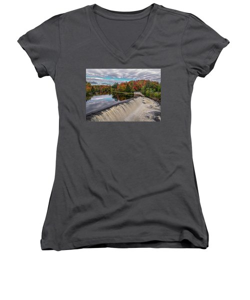 Montmorency Falls Women's V-Neck