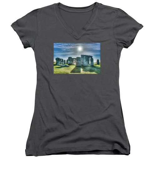 Morning Hedge Women's V-Neck