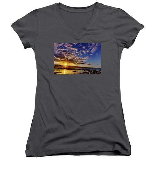 Morning Sunrise Women's V-Neck