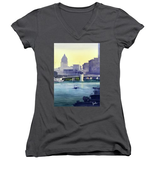 Morning Walk Women's V-Neck