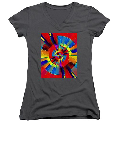 My Radar In Color Women's V-Neck
