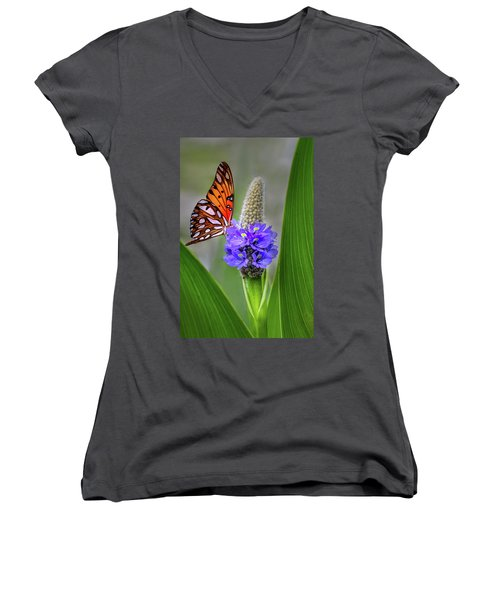 Nature's Beauty Women's V-Neck