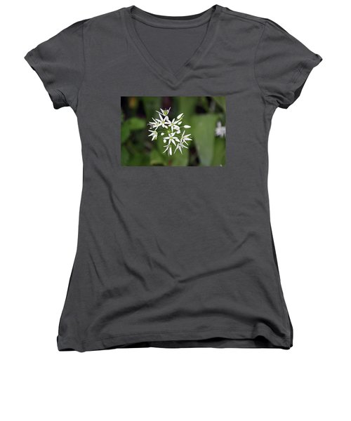 Neston. Wild Garlic. Women's V-Neck