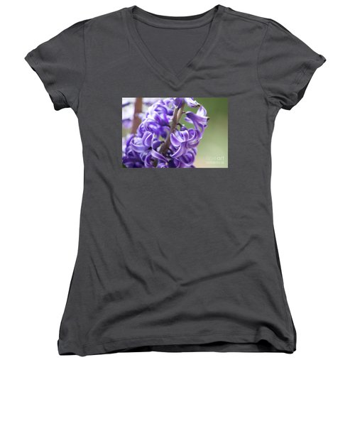 New Year Purple Women's V-Neck