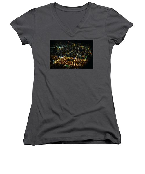 Night Flight Women's V-Neck