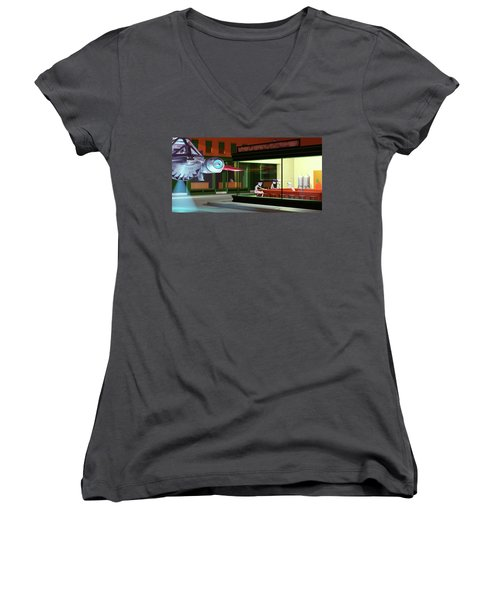 Nighthawks Invasion Women's V-Neck