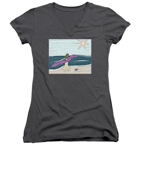 Ocean Dance Women's V-Neck