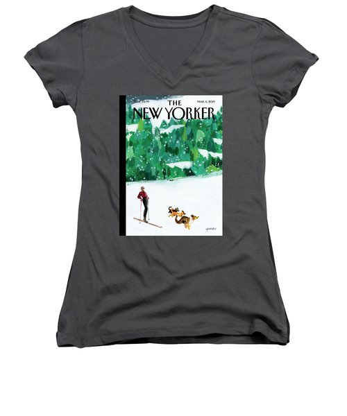 Off The Path Women's V-Neck