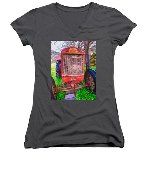 Out To Pasture Women's V-Neck