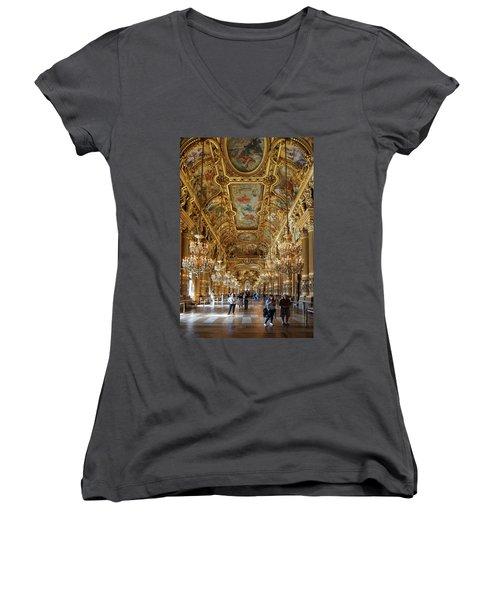Paris Opera Women's V-Neck