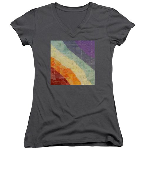 Pastel Color Study Women's V-Neck