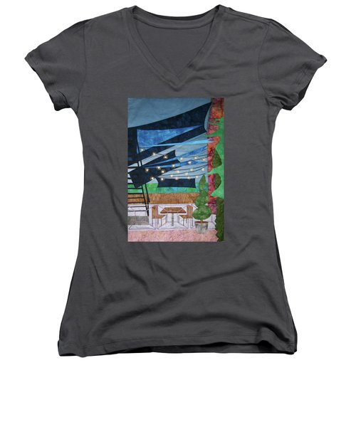 Patio At The Winds Women's V-Neck