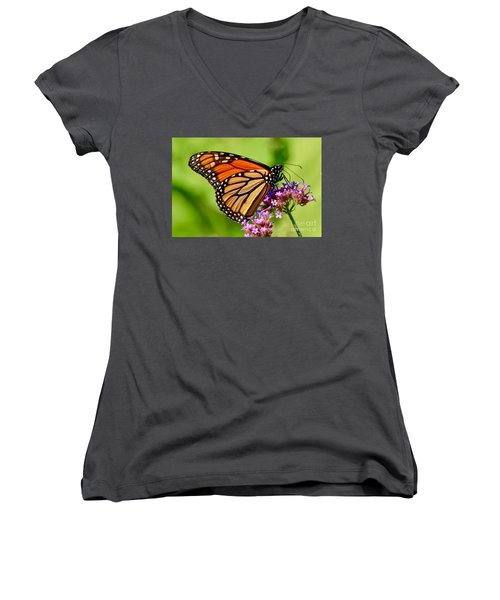 Perfect Monarch Women's V-Neck