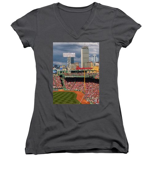 Peskys Pole At Fenway Park Women's V-Neck