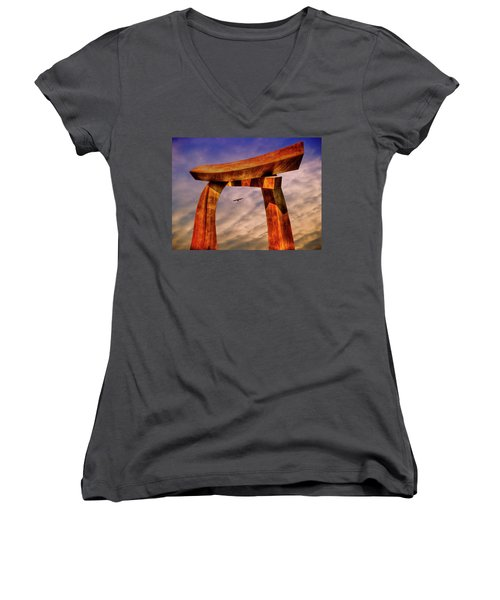 Pi In The Sky Women's V-Neck