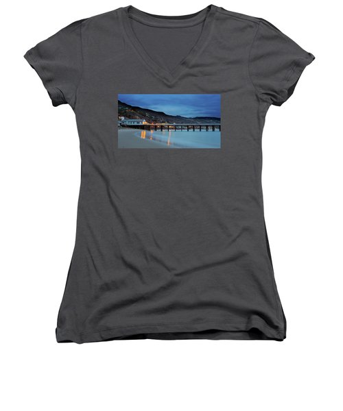 Pier House Malibu Women's V-Neck (Athletic Fit)