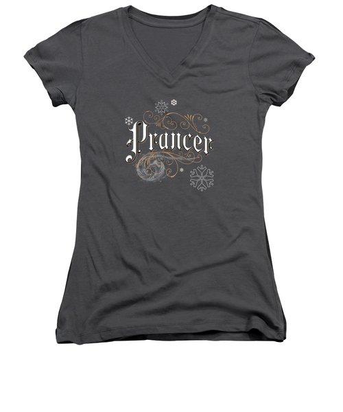Prancer Women's V-Neck
