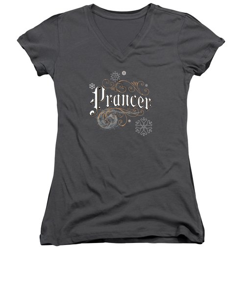 Prancer Women's V-Neck