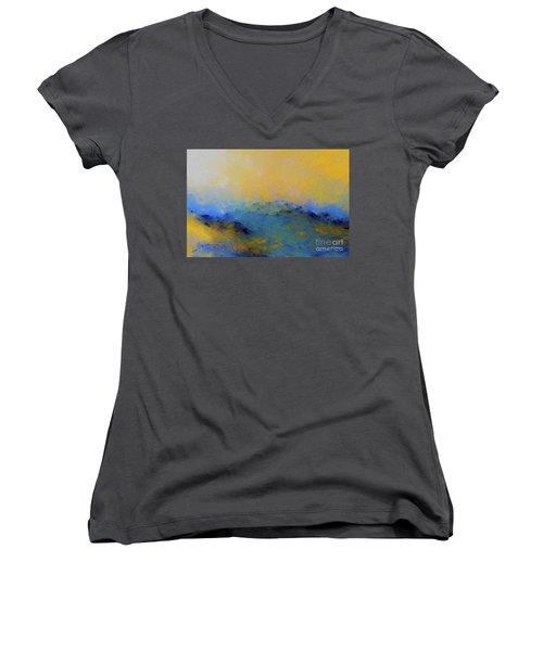 Psalm 100 4. With Thanksgiving Women's V-Neck