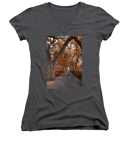 Redhead Fall Walkabout Women's V-Neck