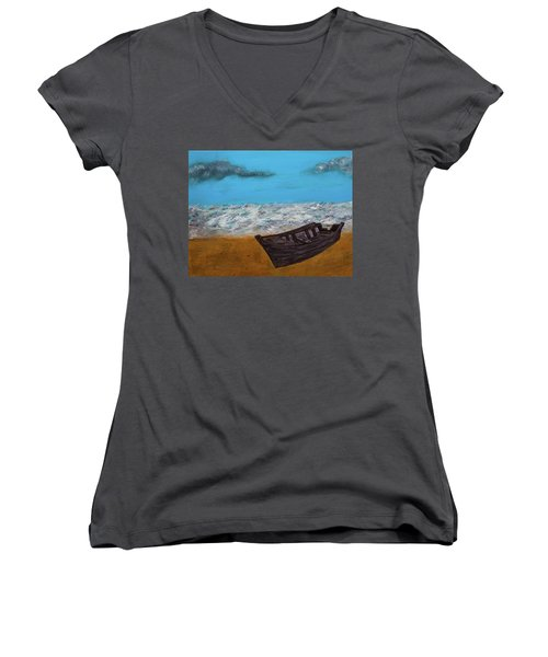 Row Your Boat Women's V-Neck